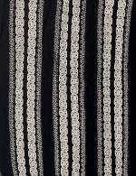 Smocked Geometric Grommet Tie Sleeve Top - Plus - 3