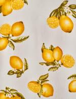 Sleeveless Lemon Tie Front Top - 3