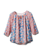 Westport Small Floral Twin Print Blouse - 1