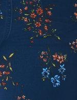 Dressbarn Floral  Border Kimono - 4
