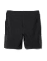 Pima Cotton Bike Short - Black - Back