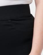 Westport Signature High Rise Pull On Jegging Jean - Plus - Black - Detail