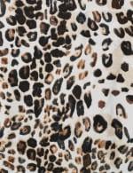 Leopard Mix Media Knit Top - 7