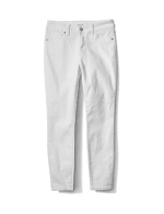 Skinny 5 Pocket Ankle Jean - White - Front
