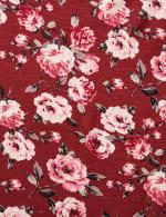 Sleeveless Bouquet Floral Tier Knit top - Plus - 3