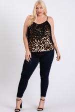 Leopard x Tassels Top - 1