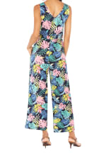 Caribbean Joe® Tie Waist Jumpsuit - 2