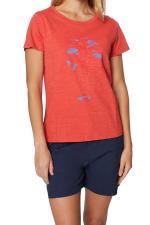 Caribbean Joe® Screen Print Knit T-Shirt - 1