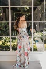 Juliette V-Neckline Boho Chic Botanica Dress - 3
