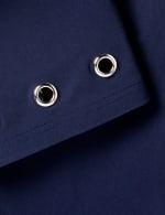 Pull On Crop Pant with Hem Grommet Detail - 3
