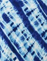 Bias Tie Dye Knot Front Knit Top - Misses - 3