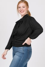 Business Time Smocking Blouse - 3