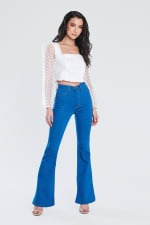 Perfect Fit Flare Jeans - 1