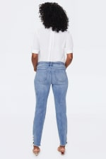 NYDJ Sheri Ankle Jeans with Laced Slits - 2