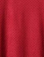 Ruffle Sleeve Clip Dot Tee - 3
