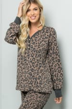 Leopard Weekend Top - 3