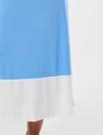 Color Block Maxi Dress - Chambray - Detail
