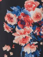 Marina Sleeveless Floral Chiffon Jacket Dress - 3