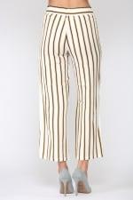 Waneeta Stripe Pant - Multi stripe - Back