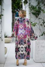 Violet Isabella Kimono - Multi - Back