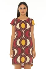 Short Dress Star Wine - Star-Wine - Front