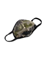 Camouflage Foil Fashion Mask - Neutral - Front
