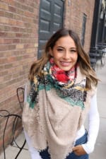 Colorful Blanket Scarf - 2
