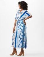 Floral Stripe Patio Dress - 3