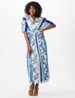 Floral Stripe Patio Dress - 6