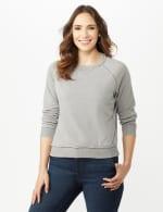 Mineral Wash Raw Edge Sweatshirt - 3