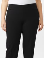 Roz & Ali Secret Agent Pull On Tummy Control Pants with Pockets - Short Length - 4