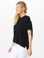 Hoodie Sweater Poncho - 3