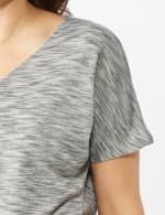 Space Dye French Terry Knit Top - 5