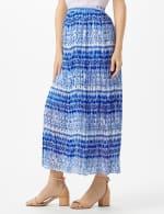 Elastic Waist Crinkle Pull On Skirt - 8