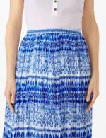 Elastic Waist Crinkle Pull On Skirt - 9