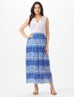 Elastic Waist Crinkle Pull On Skirt - 10