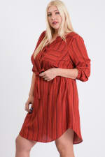 Casually Chic Shirt Dress - 6