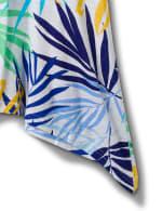 Palm Shark Bite Print tee - 4