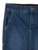 Goddess Skirt, Zip Fly , Front Pockets And Back Slash Pockets - 4