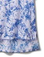 Tie Dye Burnout Knit Tee - 4