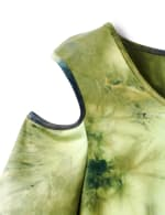 Denim Friendly  Tie Dye Cold Shoulder - 5