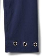 Pull On Crop Pant with Hem Grommet Detail - 4