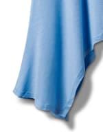 Texture Shark Bite Hem Knit Tunic - Plus - 3