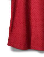 Ruffle Sleeve Clip Dot Tee - 5