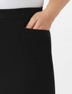Roz & Ali Pull On Secret Agent Pant with L Pockets- Average Length   -Plus - 5