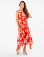 Spring Floral  Chiffon Dress - 3