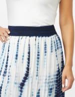 Rayon Gauze Skirt with Decorative Waistband - 4