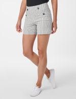 Sailor Short with Button Detail - 5