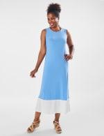 Marina Color Block Maxi Dress - 12