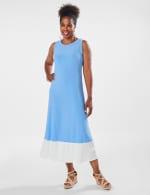 Marina Color Block Maxi Dress - 11